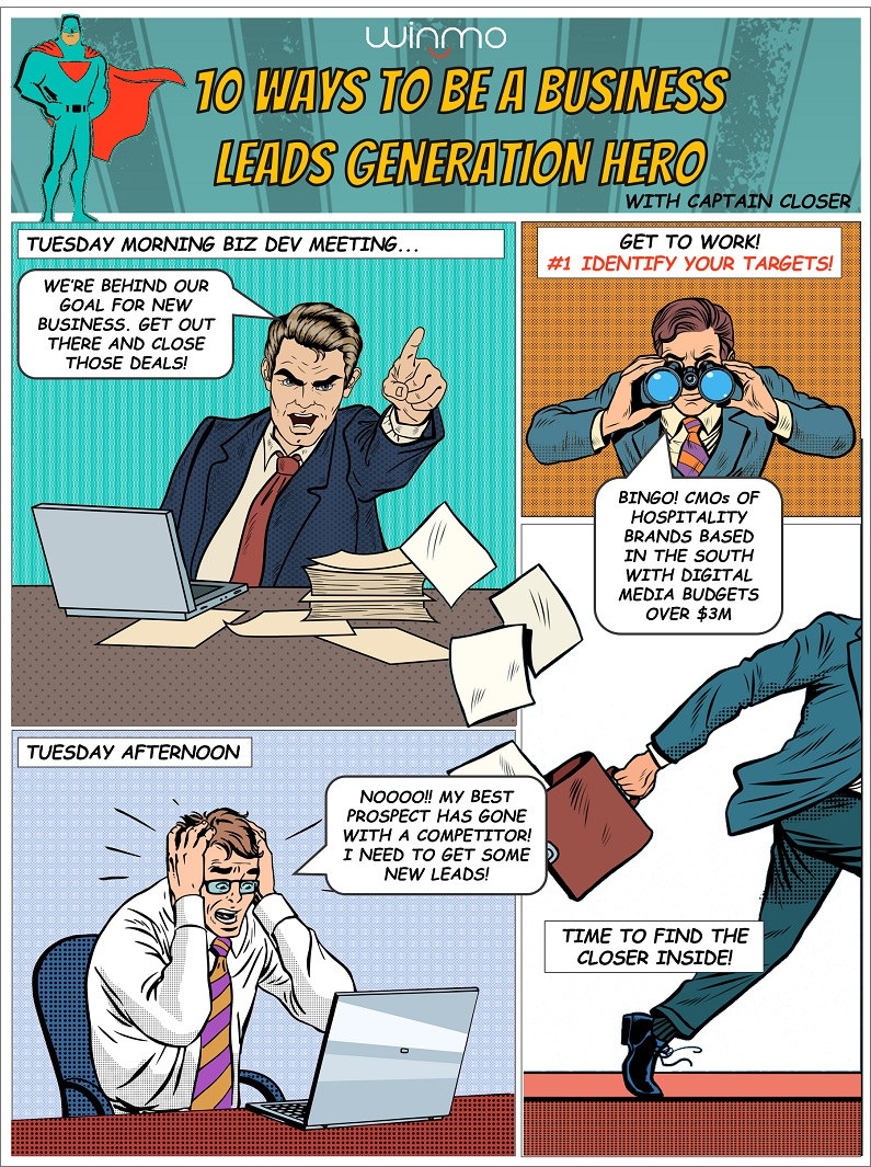 How to be a business leads generation hero