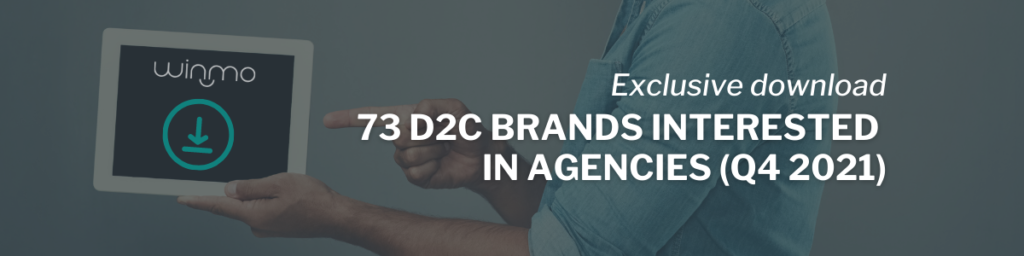 73 D2C Brands Interested in Agencies: Q4 2021